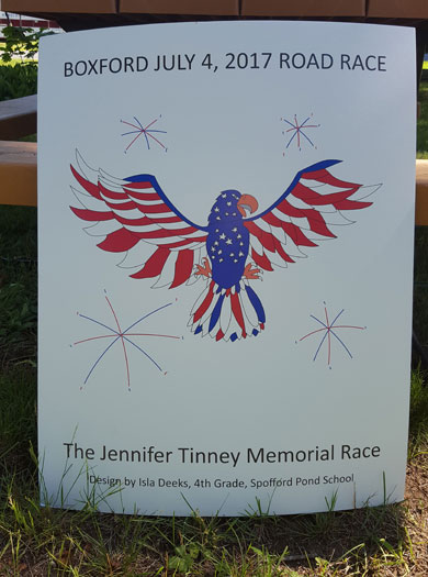 Jennifer Tinney Road Races, Melrose Running Club